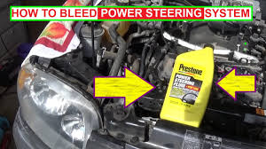 how to bleed power steering system the right way bleed