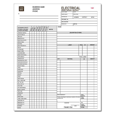 contractor invoices electrical contractor forms custom carbonless designsnprint