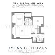 the st regis residences floor plans luxury condos dylan donovan view pdf luxury toronto floor plans