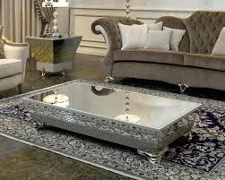 mirrored end table set mirror top coffee table coffee tables cheap mirrored coffee table