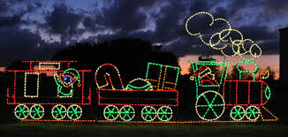 Outdoor Christmas Decor Train by Outdoor Christmas Decoration Flat Car W Rocking Horse Holiday