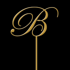 gold monogram cake toppers monogram cake topper initial wedding cake topper gold monogram