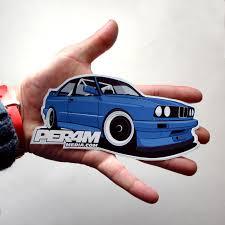 bmw e30 model car bmw e30 m3 sticker car sticker car decal car window