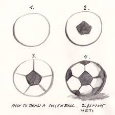 how to draw a soccer goal goal drawings and drawing ideas