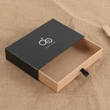 tie box gift source cardboard drawer sliding gift bow tie kraft paper packaging