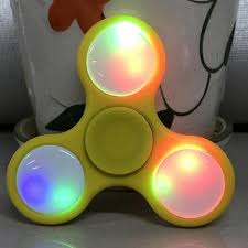 a light up fidget spinner led light styles hand finger spinner fidget plastic hand spinners