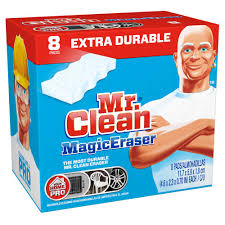 mr clean extra power magic erasers 8 pack 003700023822 the