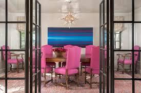 pink and blue dining rooms design ideas
