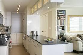 black and white kitchen decorating ideas kitchen inspiring white galley kitchen ideas for modern apartment