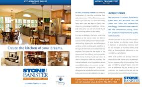 Stone Banister Milwaukee Kitchen Experts Featured On Builders Showcase Television