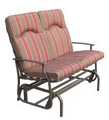 royalcraft amalfi padded 2 seatr glider bench including cushion