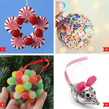 candy ornaments diy christmas ornaments made from candy gum drop martha stewart