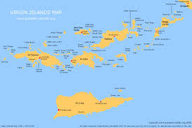Puerto Rico On A Map by Virginislandsmap Jpg