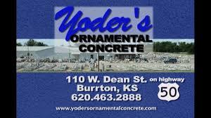 yoder ornamental concrete