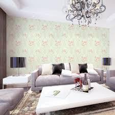 Wohnzimmer Modern Beige Innenarchitektur Geräumiges Kühles Tapetenmuster Wohnzimmer