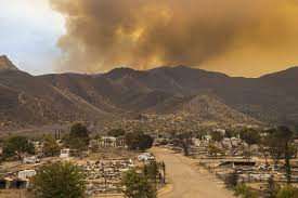 California Wildfires Ventura County by Wildfires Across California Consume Nearly 60 000 Acres La Times