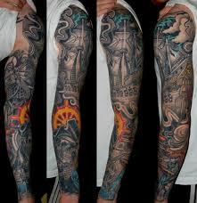 pirate map tattoo sleeve dominantni info