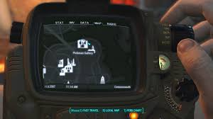 Fallout 4 Map by Fallout 4 Unique And Exceptional Weapons Guide Usgamer