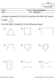 primaryleap co uk symmetry worksheet