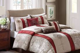 White And Red Comforter Bedding Set Wonderful Red And Black Boys Twin Comforter Sets