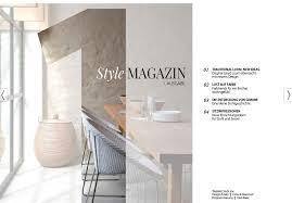 design magazin blue wall design style magazin and