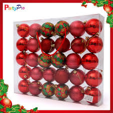 christmas decorating clear plastic balls free shipping cm
