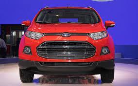 nissan juke vs ford ecosport ford ecosport small crossover confirmed for north america motor