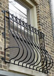 decorative wrought iron window bars iron