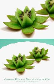 Floral Food by Kiwi Fruit Flower They Look Like Water Lilies So Pretty These