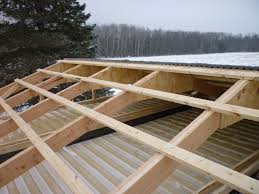 Shed Roof Over Patio by Decorating Cool Design Of Shed Roof Framing For Captivating