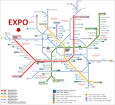 Metro Expo Line Map by Get To Expo Milano By Subway Milan To Visit
