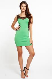 lime green body con dress cicihot dresses dress prom