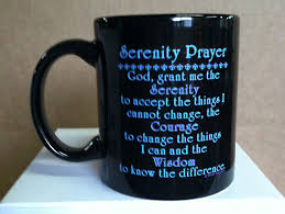serenity prayer mug serenity prayer mug 12 step sobriety gifts recovering alcoholics