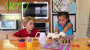 kids arts and crafts using flowers u2013 by kidzoo skeebop