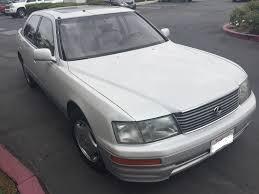 lexus ls400 used for sale 1997 lexus ls400 coach edition u2013 pearl white 217 000 miles