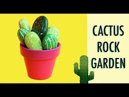 Desk Rock Garden Cactus Desk Craft How To Make Cactus Rock Garden Decorations