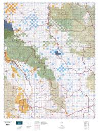 Montana Land Ownership Maps by Mt Deer Elk Gmu 446 Map Mytopo