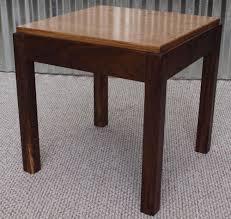Oak  Black Walnut End Table Custom Furniture Portland OR - Custom furniture portland
