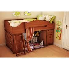 South Shore Imagine Twin Loft Bed Morgan Cherry Walmartcom - South shore bunk bed
