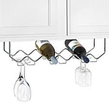 wine racks u0026 cabinets wall wine glass racks bed bath u0026 beyond