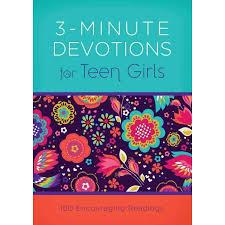 Devotions For Baby Shower - 3 minute devotions for teen girls walmart com