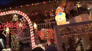 christmas lights in baltimore u0027s miracle on 34th street youtube