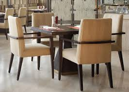 Wooden Restaurant Chairs 5 Star Hotel Modern Wooden Dining Room Tables High End