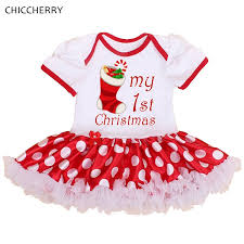 my christmas baby girl my 1st christmas costumes for kids children clothes newborn baby