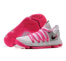 new kd 10 shoes pink sale