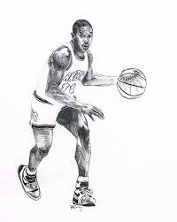 fast sketch of sports movements basketball by thb886 on clipart