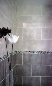 Two Tone Bathroom 40 Grey Bathroom Tile Ideas And Pictures