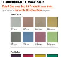 color charts for concrete floors