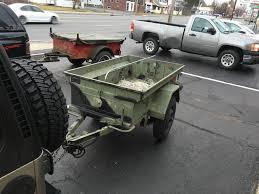 m416 trailer tj u0027s m101 cdn2 trailer build capital district jeep wrangler