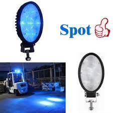 blue warning lights on forklifts xrll 36 volt led forklift light blue reverse lights forklift